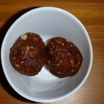 almond butter date balls
