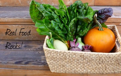3 Reasons Real Food Rocks and How to Rock It!