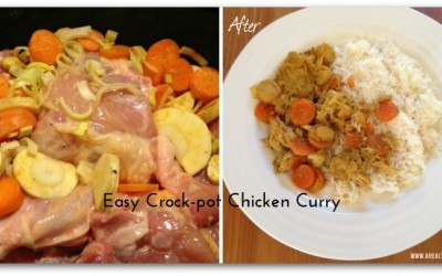 Easy Crock-pot Chicken Curry Recipe