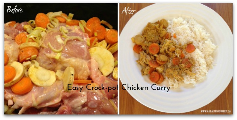 Easy Crock-pot Chicken Curry Recipe