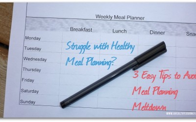 Struggling with healthy meal planning?