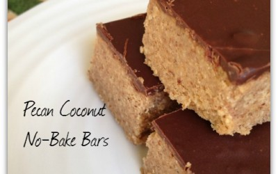 No Bake Bars – Pecan Coconut