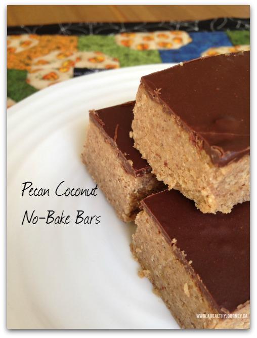 No Bake Bars – Pecan Coconut