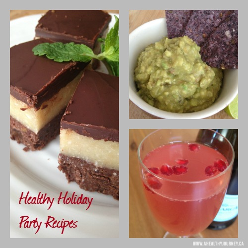 Healthy and Satisfying Holiday Party Food Ideas