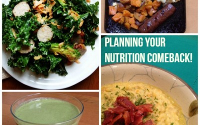 Planning Your Nutrition Comeback – New Year's Resolutions
