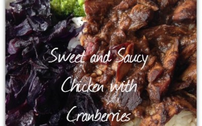 Simple Slow Cooker Chicken Cranberries Recipe