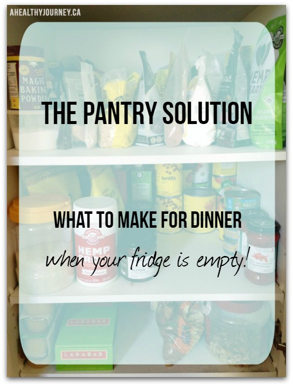 Pantry Solution Banner