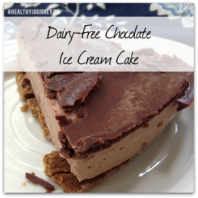 Dairy-free Chocolate Ice-cream Cake