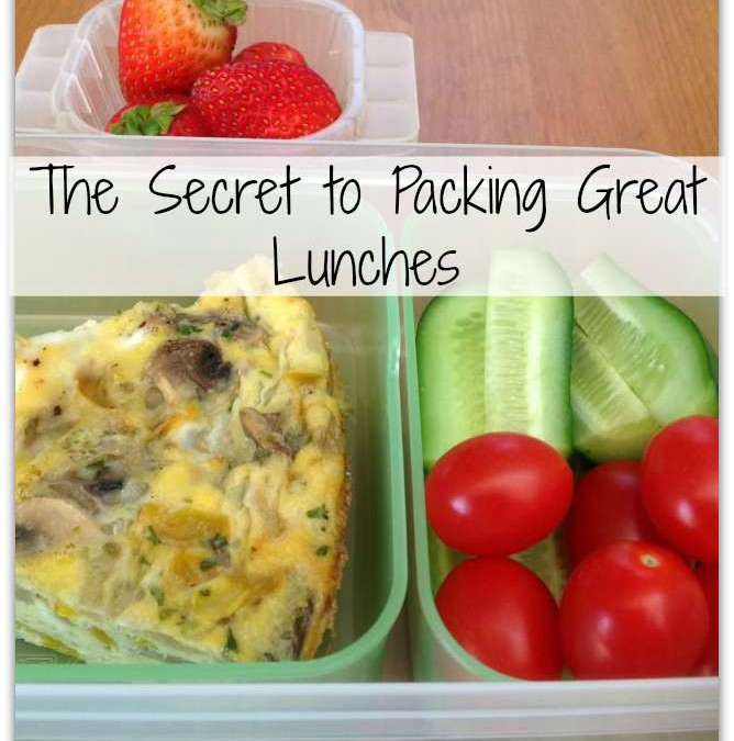 Great Lunch Packing Strategies