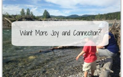 Want more joy and connection?