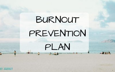 Burnout Prevention Plan